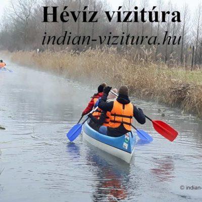 Hévíz vízitúra az ünnepi időszakban 2020.12.28-2021.01.03 🗓 🗺