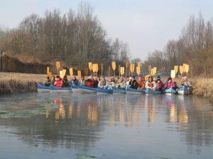 Hévíz-patak vízitúra csapatépítés