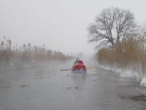 Hévíz-patak vízitúra evezés