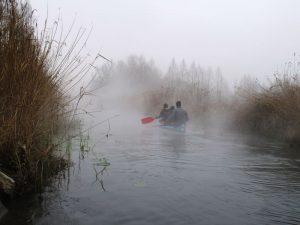 Hévízi gőzölgő patak